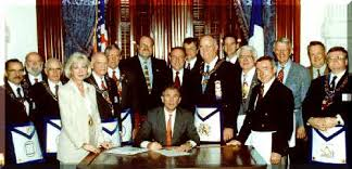 Both GHW and GW Bush deny membership in the Masons. Why?